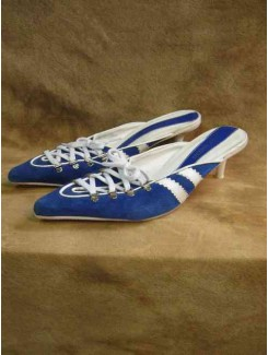 Sandale bleu espadrille