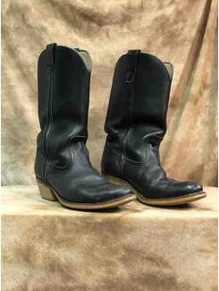 Botte cowboy noire