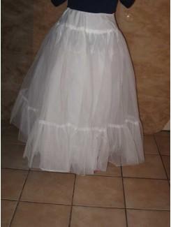 Crinoline blanche (tulle)