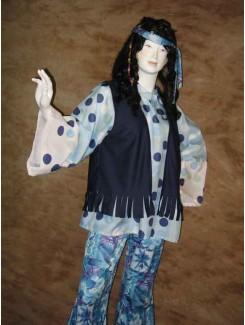Hippie pico bleu homme