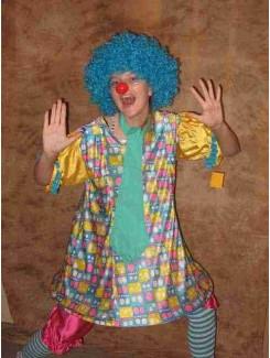Clown bleu