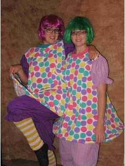 Clown mauve ou lilas