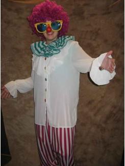 Clown rayé
