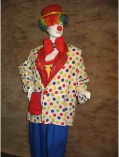 Clown méchant Location de costumes les 3 petits anges