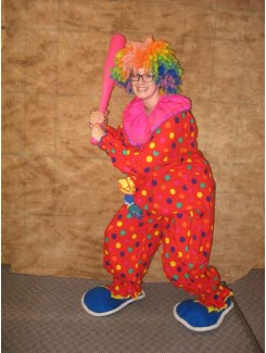 Clown baseball