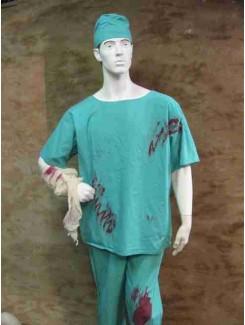 Infirmier ensanglanté