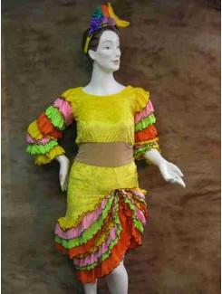Jamaïcaine  jaune