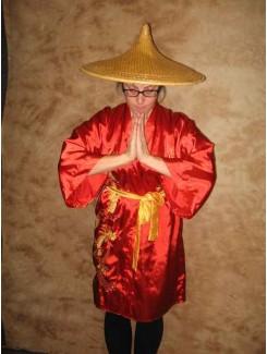Japonnaise rouge