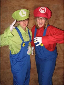 Mario Bros. et Luigi