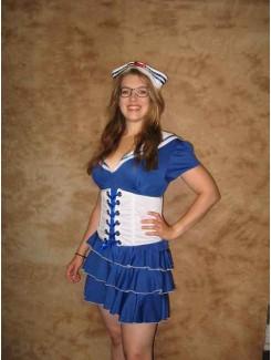 Matelot corset