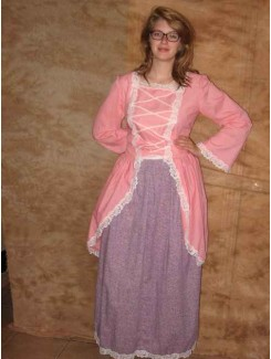 Robe centenaire rose