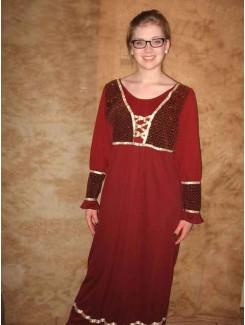 Robe médiévale bourgogne