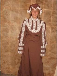 Robe 1900 brune