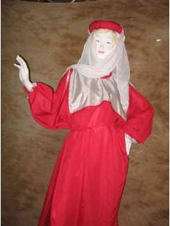 Robe médiévale rose