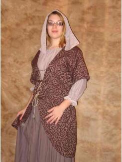 Noblesse draperie mauve