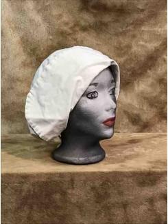 Bonnet crème grand panneau