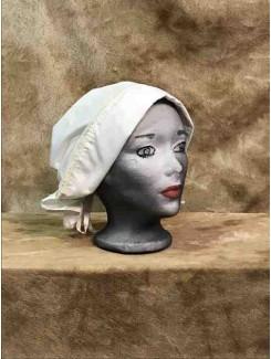 Bonnet crème petit panneau