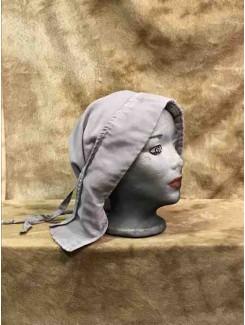 Bonnet mauve long panneau