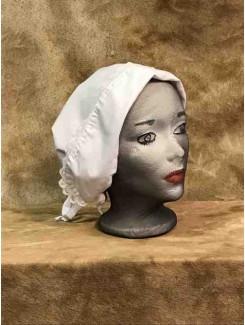 Bonnet blanc petit panneau