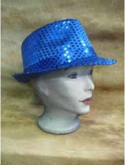 Chapeau Brillant bleu