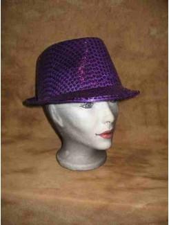 Chapeau Brillant mauve