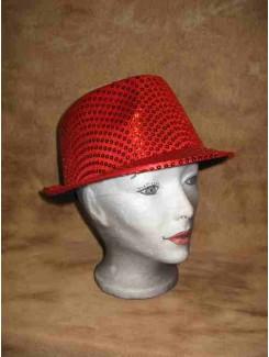 Chapeau Brillant rouge