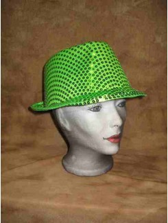 Chapeau Brillant vert