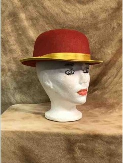 Chapeau Clown rouge