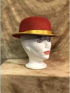 Chapeau Clown rouge