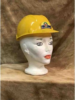 Casque de construction jaune