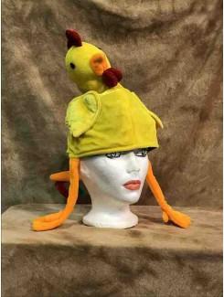 Chapeau Poulet jaune
