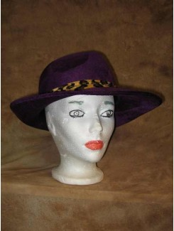 Chapeau Drag Queen mauve