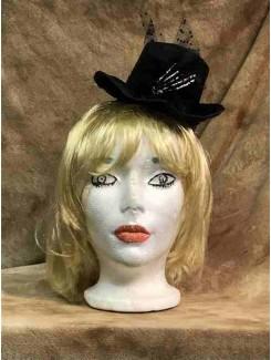 Bandeau Chapeau noir