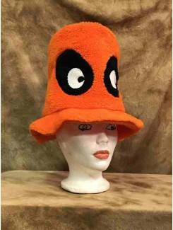 Chapeau Orange yeux noirs