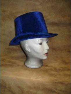Chapeau Haut de forme bleu