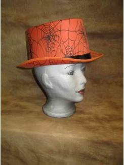 Chapeau Haut de forme orange