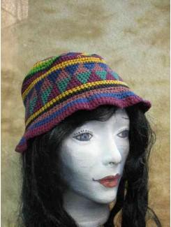 Chapeau Hippie en cordon