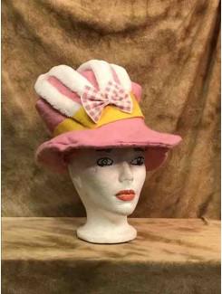 Chapeau Lapin rose