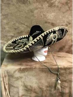 Chapeau Mexicain géant noir