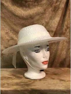 Chapeau Blanc plastique