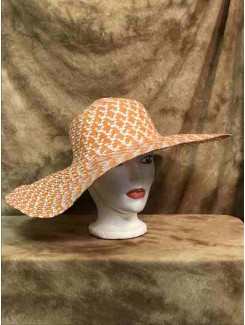 Chapeau Grand orange