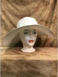 Chapeau Grand blanc