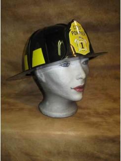 Casque Pompier noir
