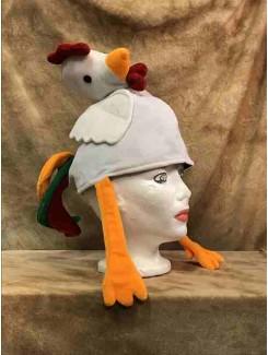 Chapeau Poulet blanc