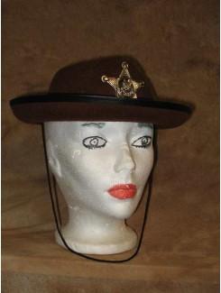 Chapeau Cowboy Shérif