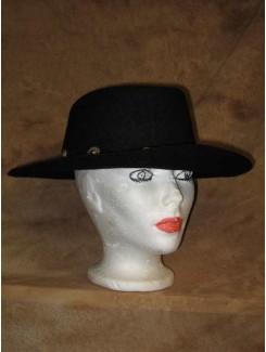 Chapeau Western noir feutre