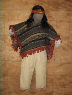 Indien Poncho