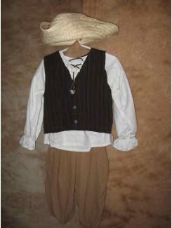 Paysan laine brun