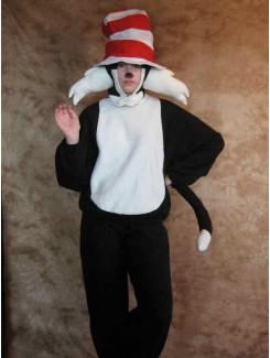 Chat dans le chapeau