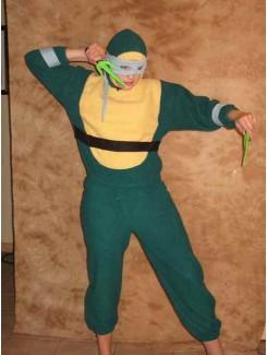 Tortue Ninja bleu